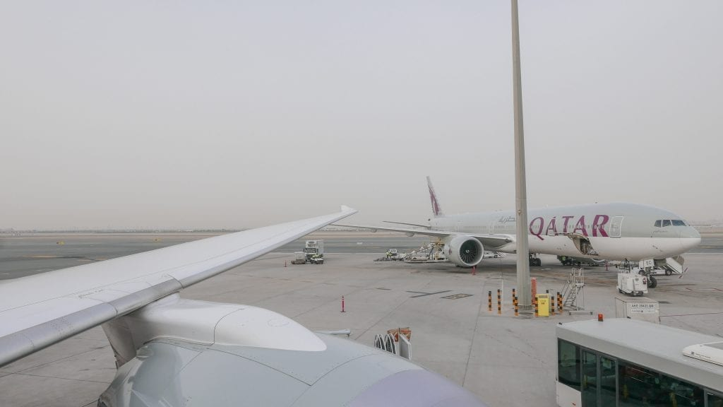 DOH ARN 5 1024x576 - REVIEW - Qatar Airways : Business Class - Doha to Stockholm (B787)