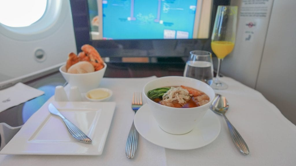 DOH ARN 8 1024x576 - REVIEW - Qatar Airways : Business Class - Doha to Stockholm (B787)