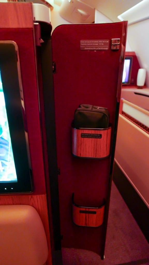 DOH BKK QR F 17 576x1024 - REVIEW - Qatar Airways : First Class - Doha to Bangkok (A380)