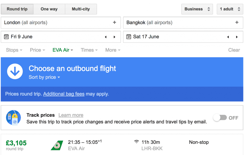Screenshot EVA air 1024x653 - TRIP REPORT - Cambodia and Thailand