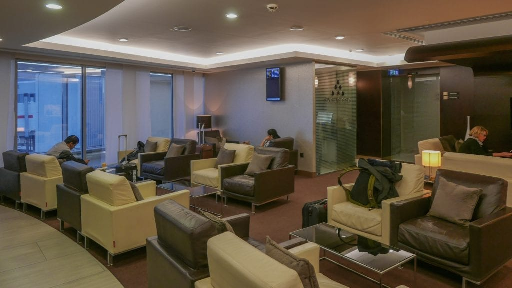 EY FJ lounge 6 1024x576 - REVIEW - Etihad Airways : First and Business Class Lounge, LHR T4
