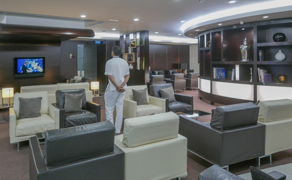 EY FJ lounge 7 1024x632 - REVIEW - Etihad Airways : First and Business Class Lounge, LHR T4