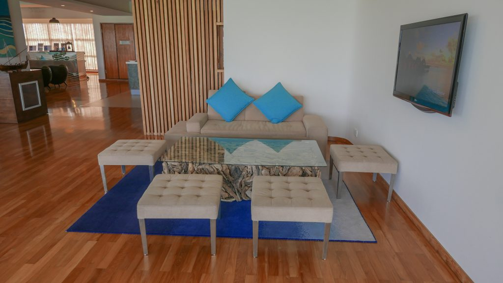 Conrad Lounge Morning 2016 12 1024x576 - REVIEW - Conrad Maldives : Seaplane Lounge MLE [Morning]