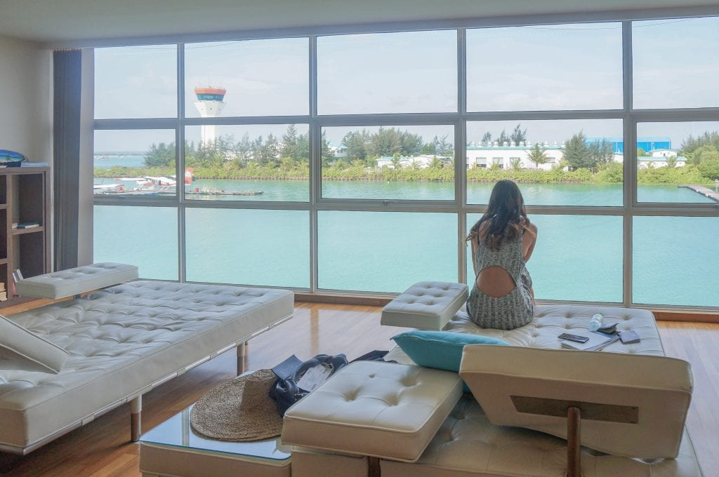 Conrad Lounge Morning 2016 16 1024x680 - REVIEW - Conrad Maldives : Seaplane Lounge MLE [Morning]