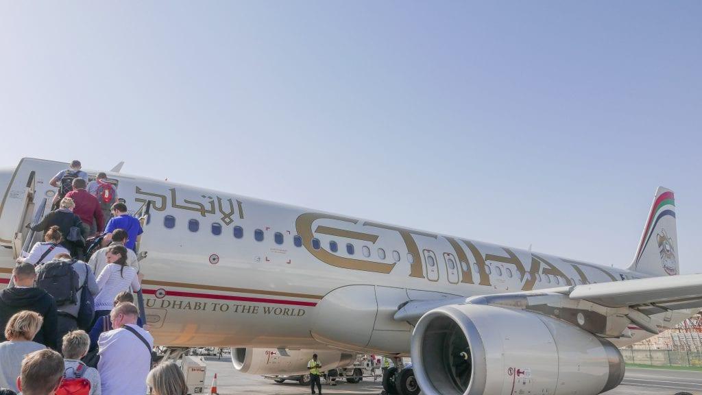 EY J AUH MLE 2016 1 1024x576 - REVIEW - Etihad Airways : Business Class (Regional) - Abu Dhabi to Malé (A320)