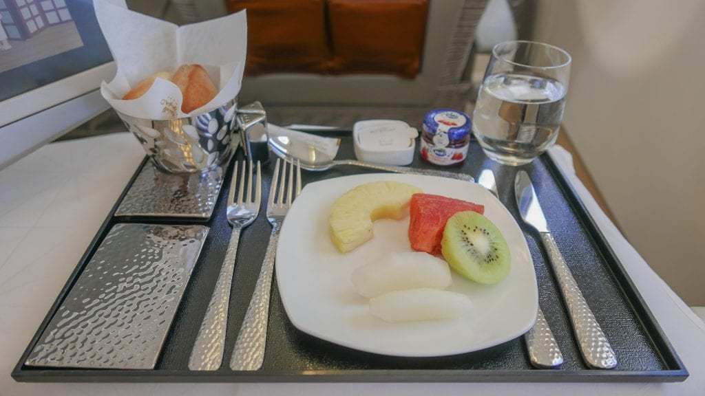 EY J AUH MLE 2016 13 1024x576 - REVIEW - Etihad Airways : Business Class (Regional) - Abu Dhabi to Malé (A320)