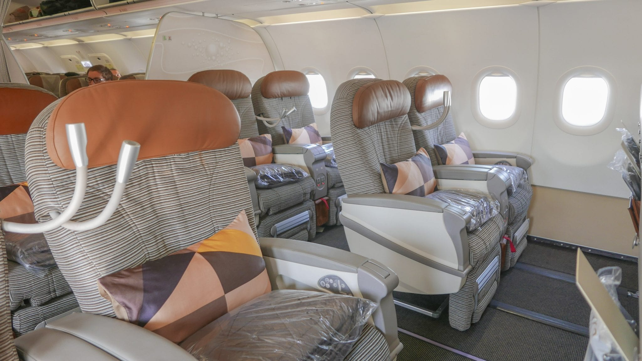 Etihad business class Jarvis Marcos