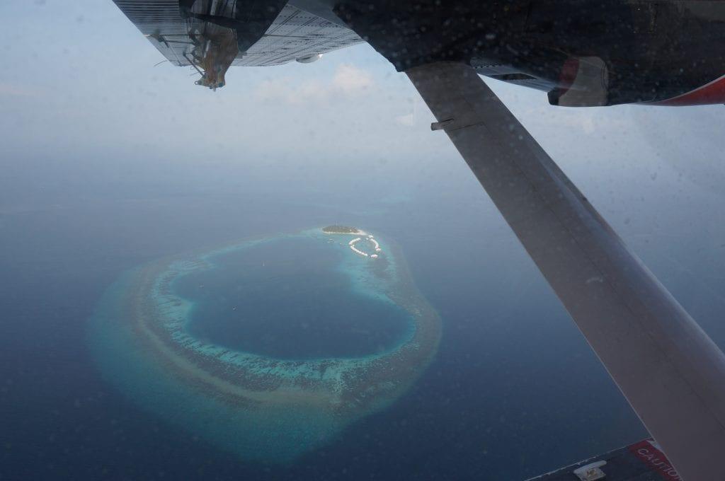 Seaplane arrival Conrad Rangali 2016 11 1024x680 - REVIEW - Seaplane Transfer and Arrival Experience at Conrad Maldives