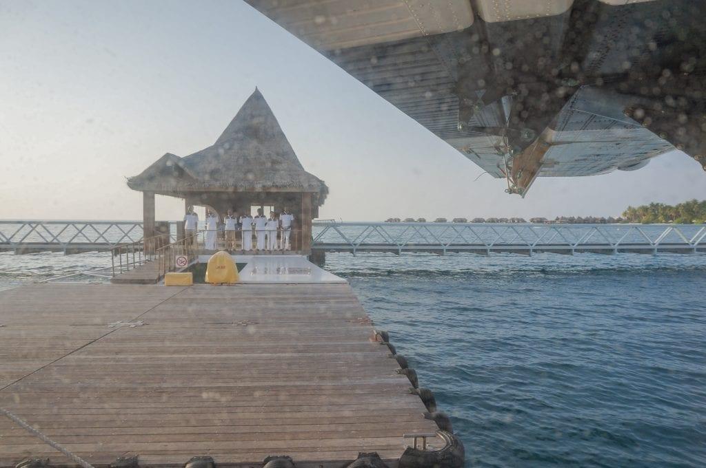 Seaplane arrival Conrad Rangali 2016 14 1024x680 - REVIEW - Seaplane Transfer and Arrival Experience at Conrad Maldives