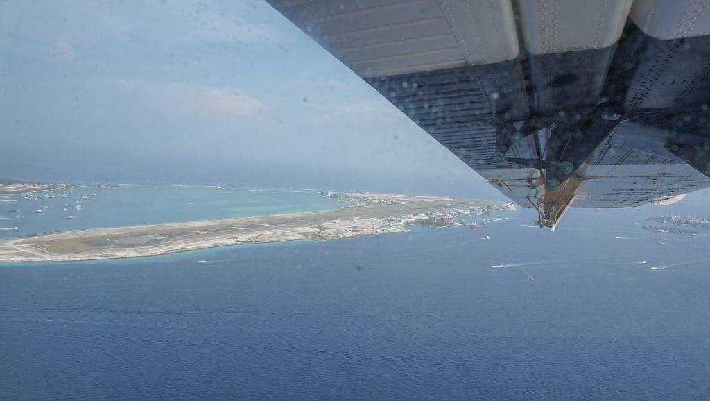 Seaplane arrival Conrad Rangali 2016 5 1024x578 - REVIEW - Seaplane Transfer and Arrival Experience at Conrad Maldives