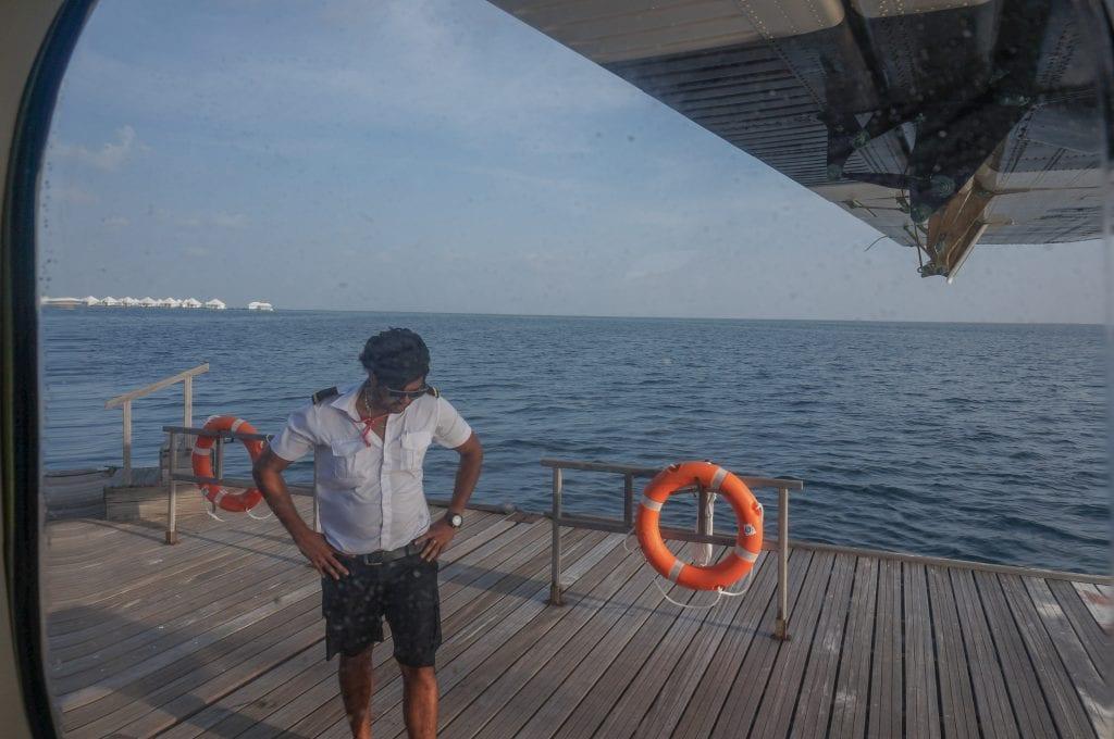 Seaplane arrival Conrad Rangali 2016 9 1024x680 - REVIEW - Seaplane Transfer and Arrival Experience at Conrad Maldives