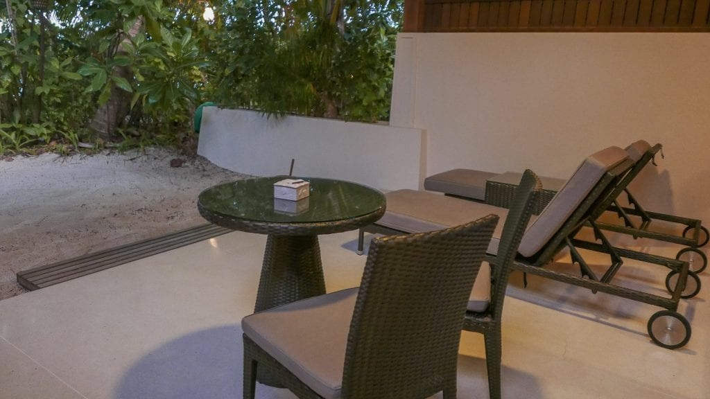 Beach Villa Conrad Rangali 2016 29 1024x576 - REVIEW - Conrad Maldives : Beach Villa (pre-renovation)