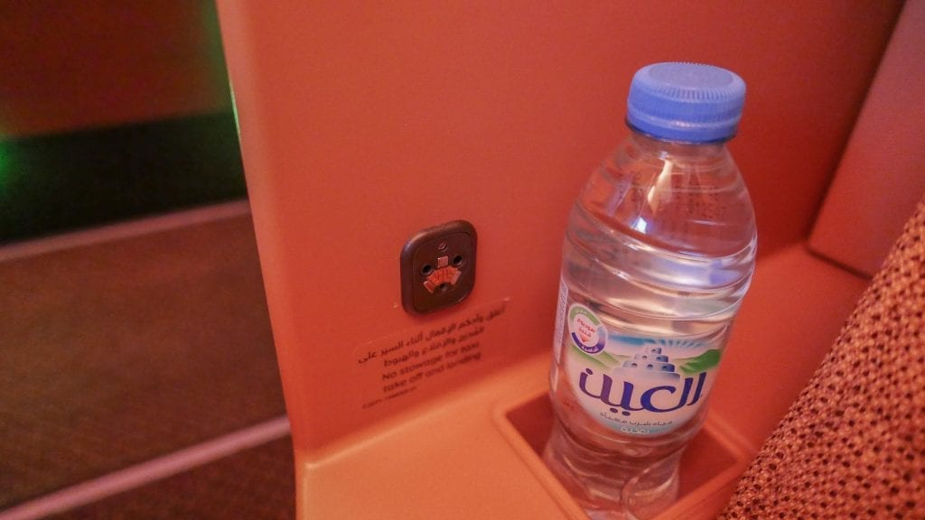 EY A380 business class 15 1024x576 - REVIEW - Etihad Airways : Business Class - Abu Dhabi to London (A380)