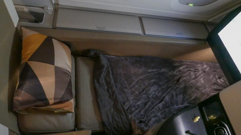 EY A380 business class 21 1024x576 - REVIEW - Etihad Airways : Business Class - Abu Dhabi to London (A380)