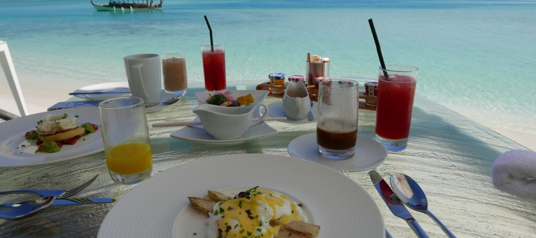 Conrad maldives breakfast
