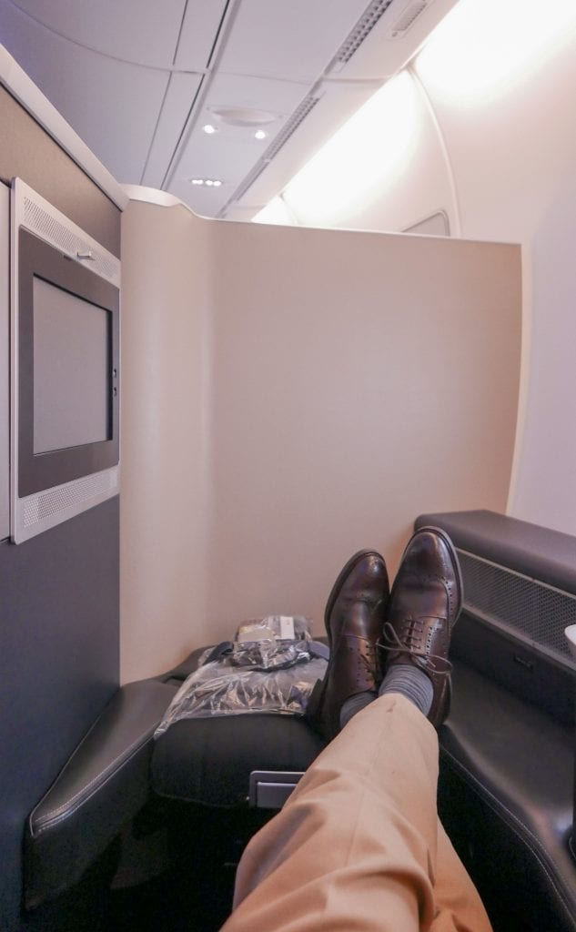 BA A380 F 12 633x1024 - REVIEW - British Airways : First Class - London to Miami (A380)