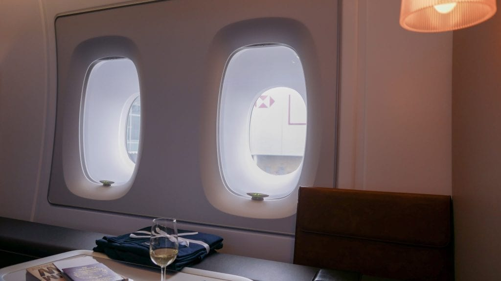BA A380 F 14 1024x576 - REVIEW - British Airways : First Class - London to Miami (A380)