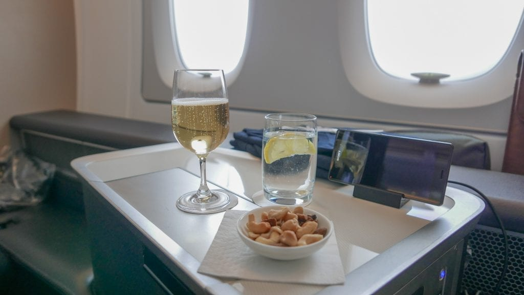 BA A380 F 15 1024x576 - REVIEW - British Airways : First Class - London to Miami (A380)