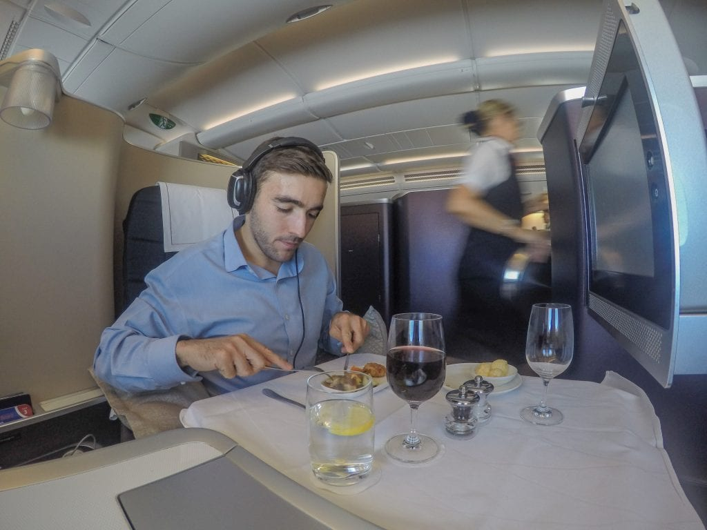 BA A380 F 25 1024x768 - REVIEW - British Airways : First Class - London to Miami (A380)