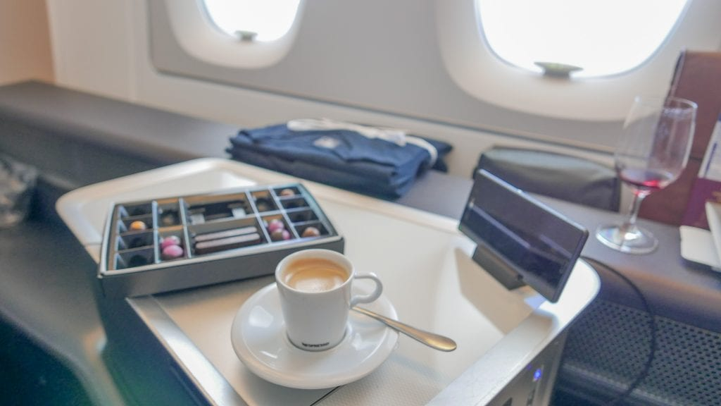 BA A380 F 29 1024x576 - REVIEW - British Airways : First Class - London to Miami (A380)