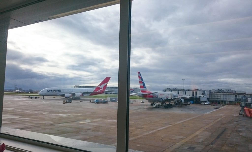 BA A380 F 3 1024x618 - REVIEW - British Airways : First Class - London to Miami (A380)