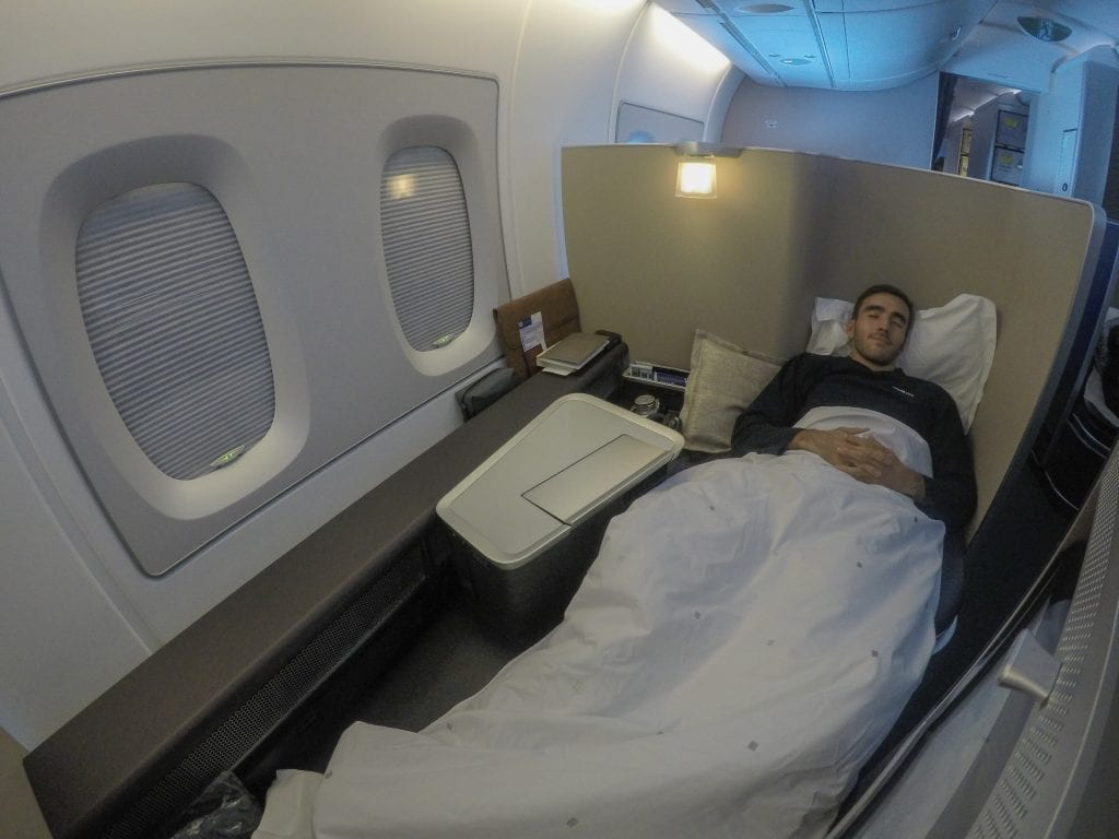 BA A380 F 31 1024x768 - REVIEW - British Airways : First Class - London to Miami (A380)