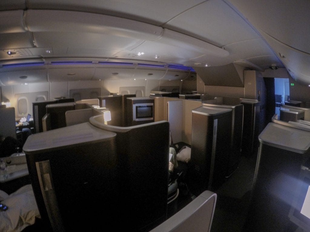 BA A380 F 32 1024x768 - REVIEW - British Airways : First Class - London to Miami (A380)