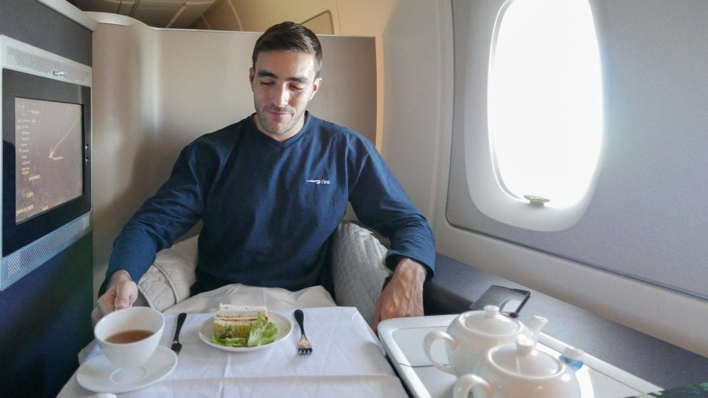 BA A380 F 39 1024x576 - REVIEW - British Airways : First Class - London to Miami (A380)