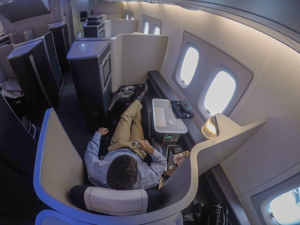 BA A380 F 4 1024x768 - REVIEW - British Airways : First Class - London to Miami (A380)