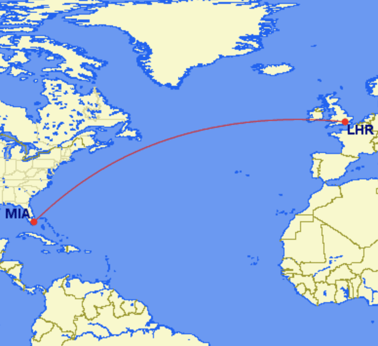 lhr mia - REVIEW - British Airways : First Class - London to Miami (A380)
