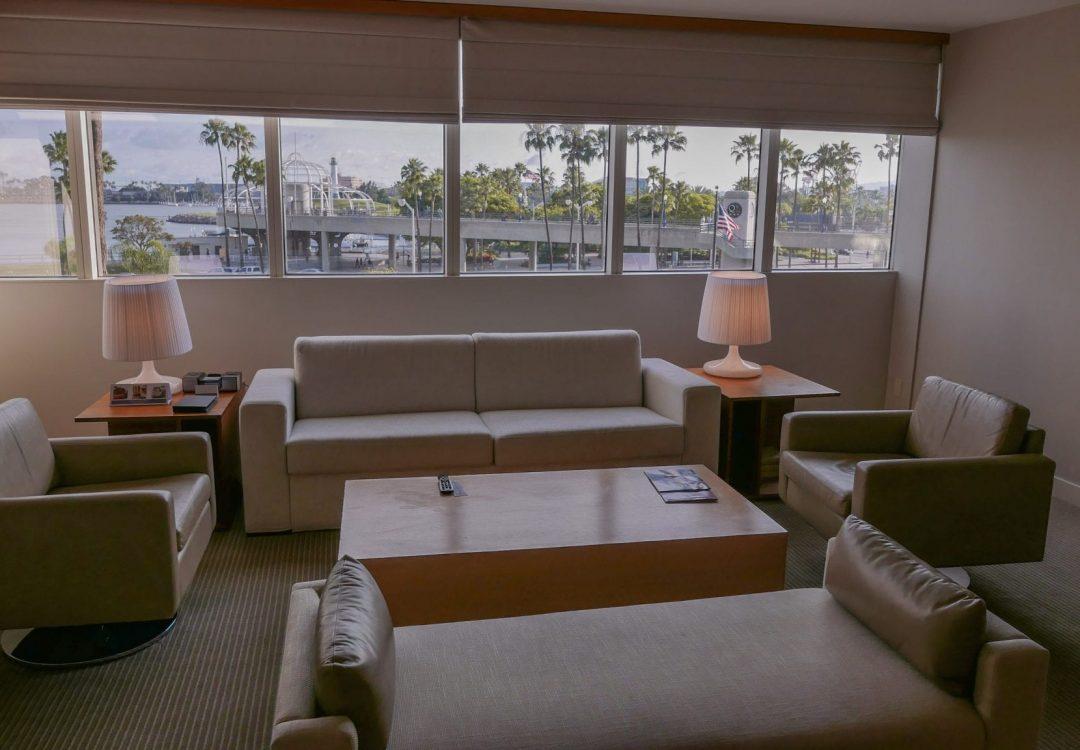 hyatt long beach suite