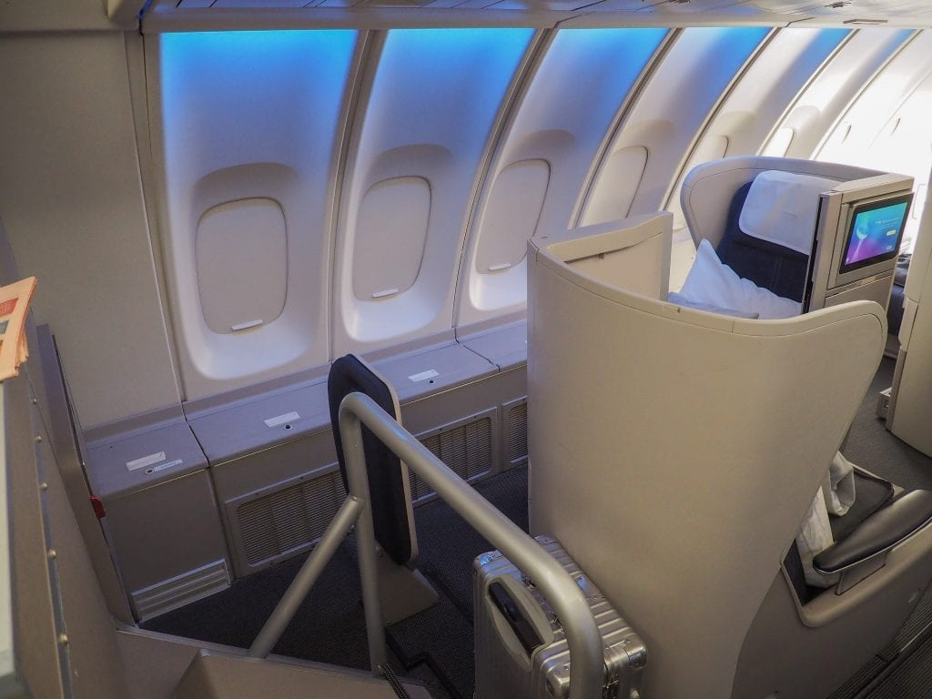 64A new catering BA 747 1 1024x768 - REVIEW - British Airways : Updated Club World Service - London to New York JFK (B747 Upper Deck)