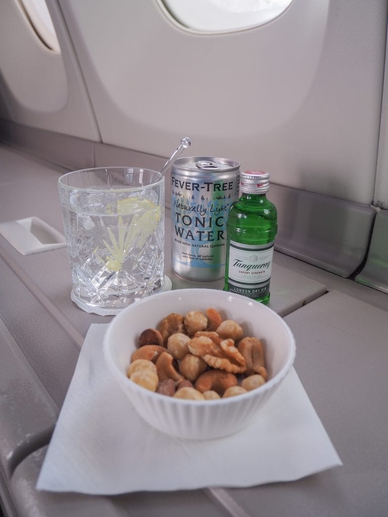 64A new catering BA 747 23 768x1024 - REVIEW - British Airways : Updated Club World Service - London to New York JFK (B747 Upper Deck)