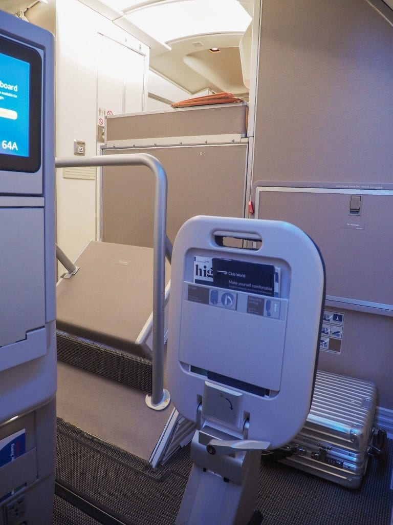 64A new catering BA 747 6 768x1024 - REVIEW - British Airways : Updated Club World Service - London to New York JFK (B747 Upper Deck)