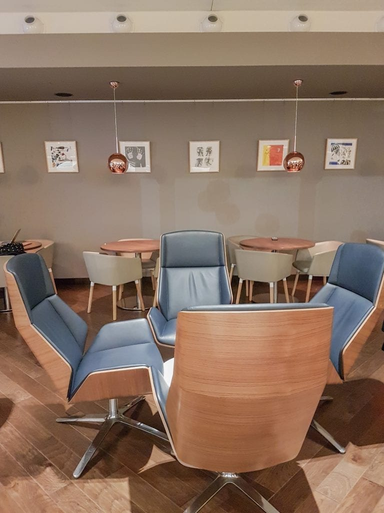 BA lounge BOS 11 768x1024 - REVIEW - The British Airways Boston Lounge - BOS Terminal E