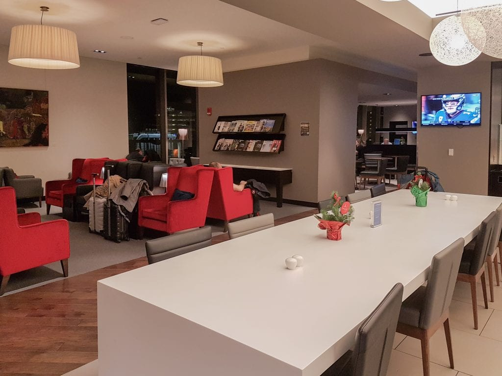 BA lounge BOS 12 1024x768 - REVIEW - The British Airways Boston Lounge - BOS Terminal E