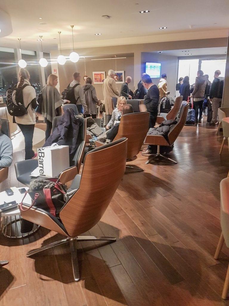 BA lounge BOS 14 768x1024 - REVIEW - The British Airways Boston Lounge - BOS Terminal E