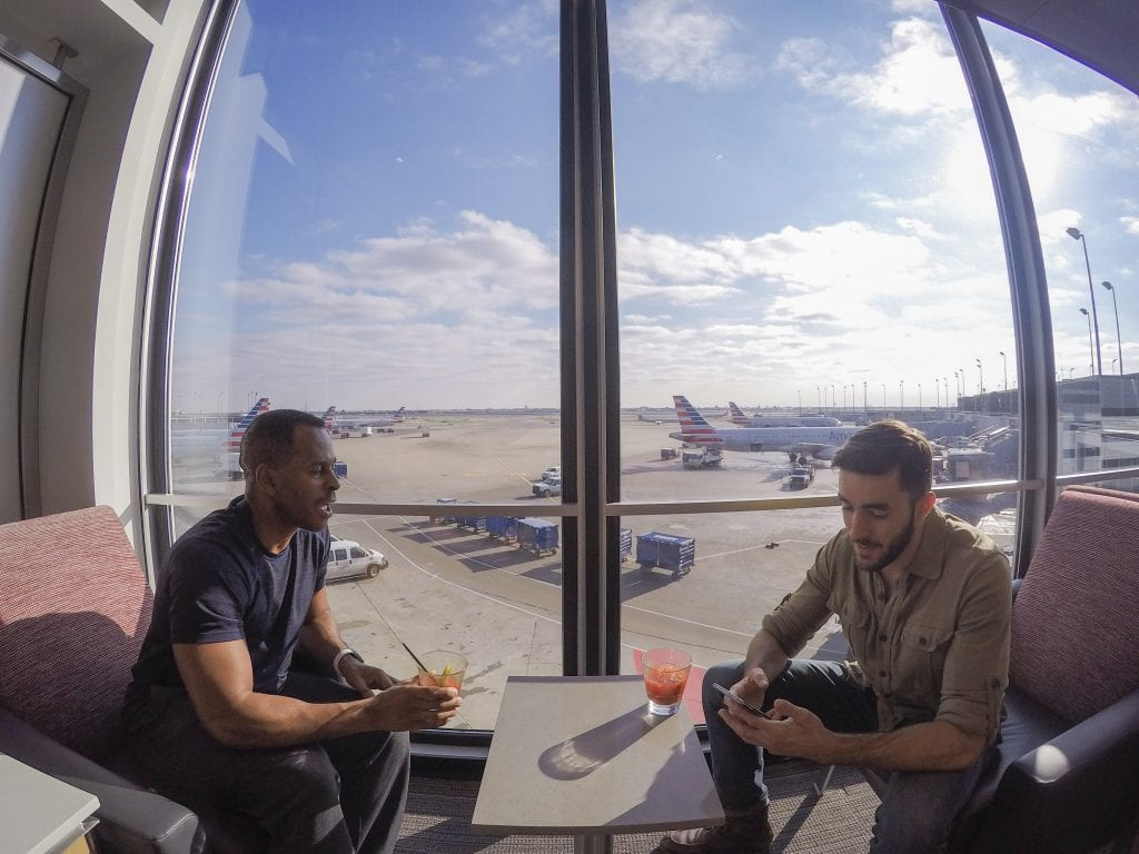 ORD flagship lounge 23 1024x768 - REVIEW - American Airlines Flagship Lounge, Chicago - ORD T3