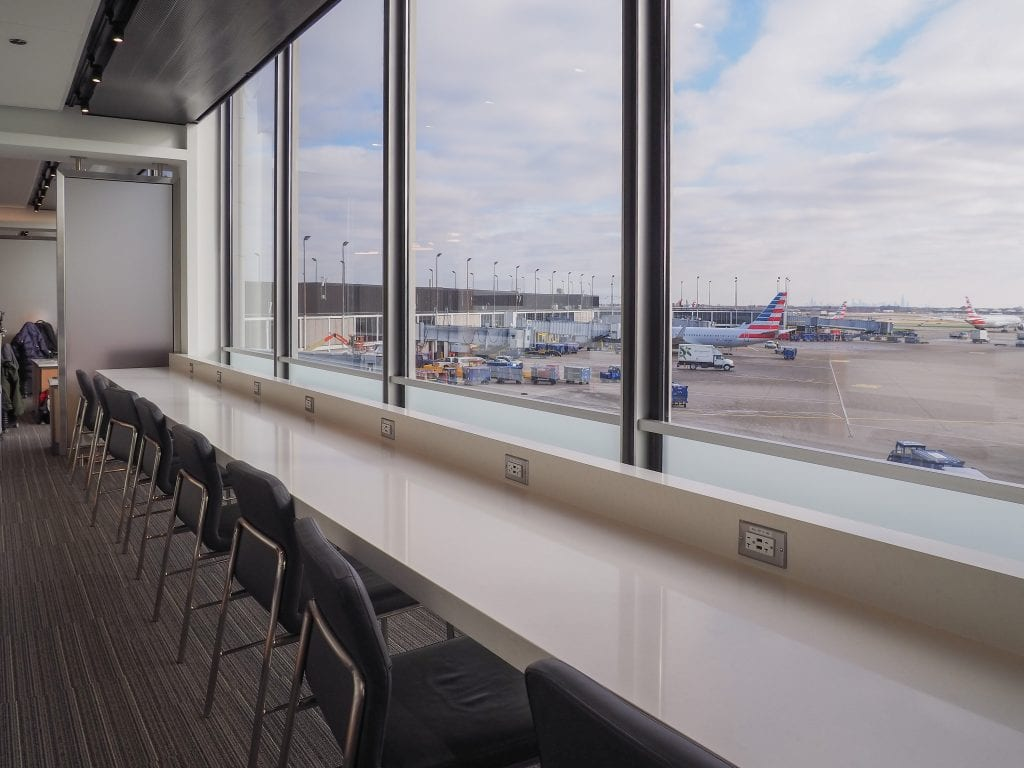 ORD flagship lounge 6 1024x768 - REVIEW - American Airlines Flagship Lounge, Chicago - ORD T3
