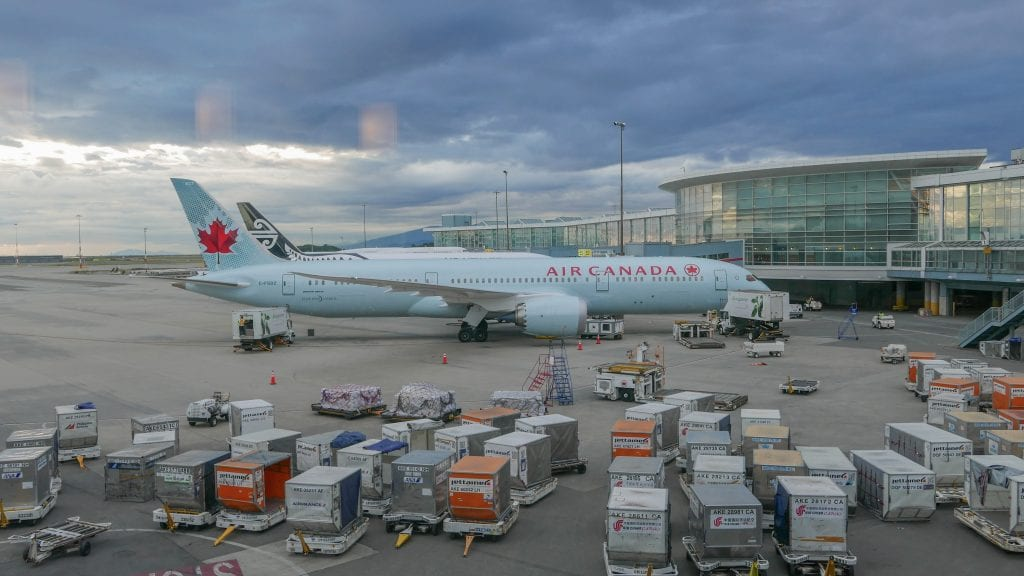 AC dreamliner 1 1024x576 - REVIEW - Air Canada : Business Class - Vancouver to London LHR (B789)
