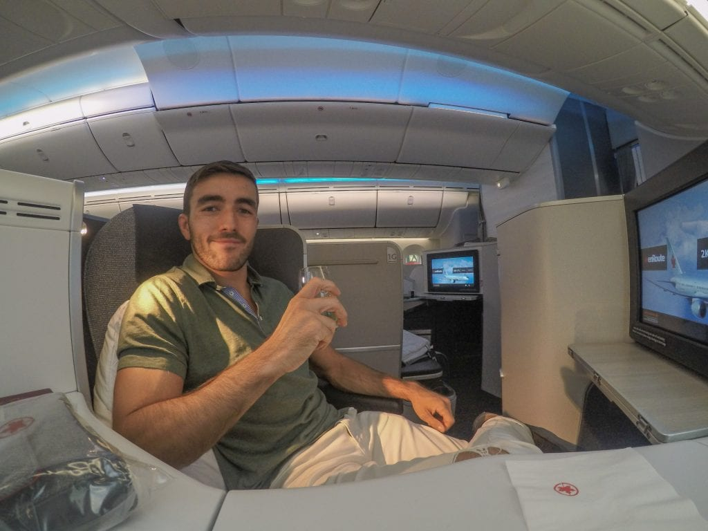 AC dreamliner 18 1024x768 - REVIEW - Air Canada : Business Class - Vancouver to London LHR (B789)