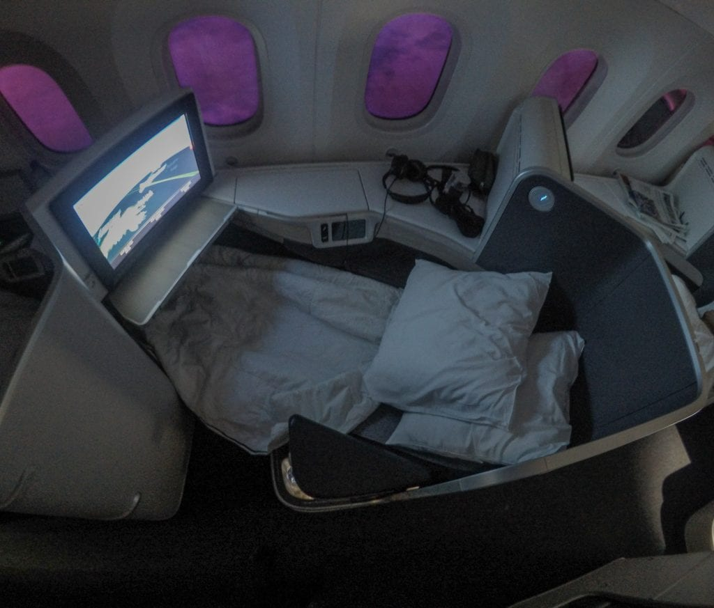 AC dreamliner 27 1024x873 - REVIEW - Air Canada : Business Class - Vancouver to London LHR (B789)