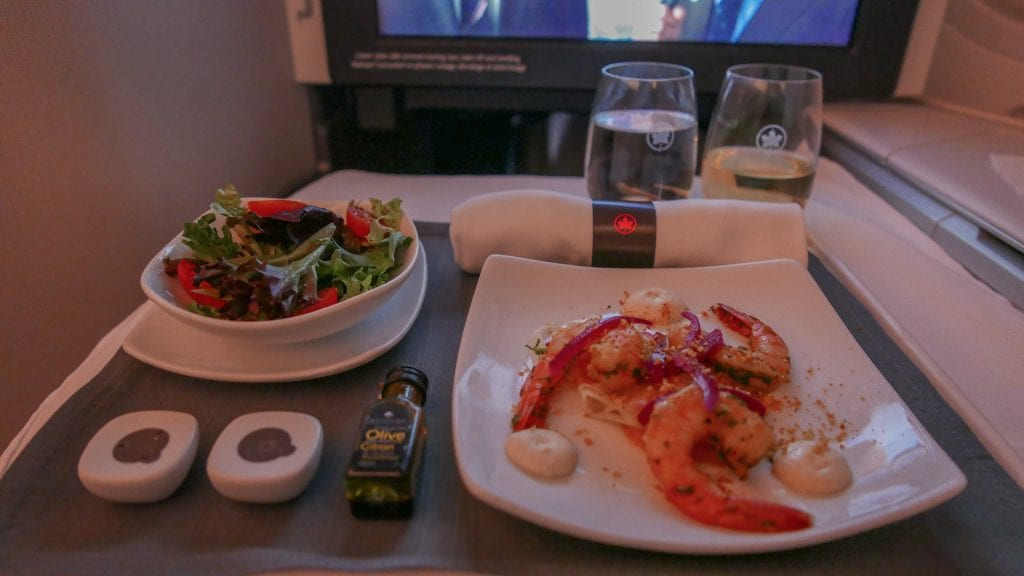 AC dreamliner 34 1024x576 - REVIEW - Air Canada : Business Class - Vancouver to London LHR (B789)