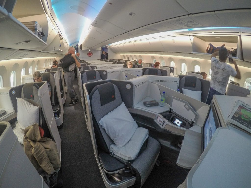 AC dreamliner 4 1024x768 - REVIEW - Qatar Airways : Q Suites Business Class - B777 - London (LHR) to Doha (DOH)
