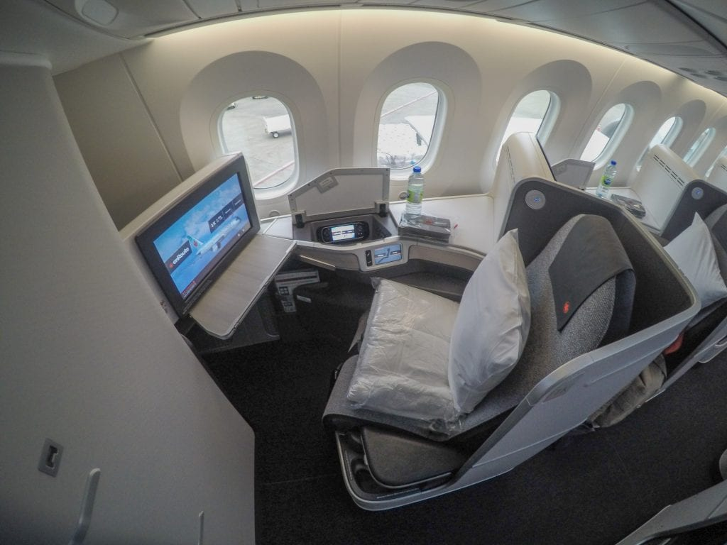 AC dreamliner 5 1024x768 - REVIEW - Air Canada : Business Class - Vancouver to London LHR (B789)