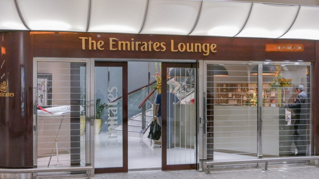 EK lounge 1 1024x576 - REVIEW - Emirates Lounge : First and Business Class, London (LHR - Terminal 3)
