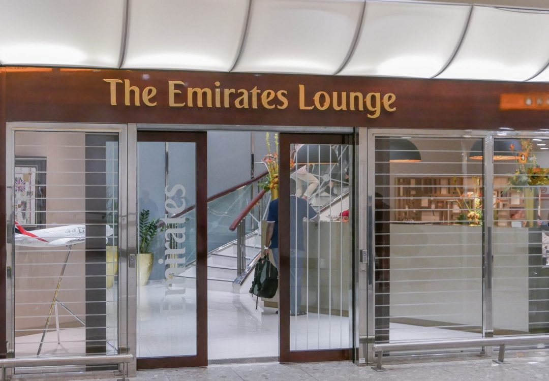 EK lounge 1 1080x750 - REVIEW - Emirates Lounge : First and Business Class, London (LHR - Terminal 3)