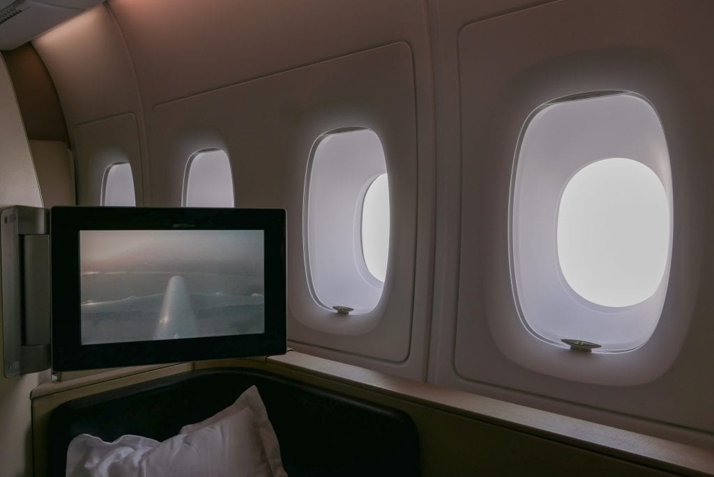 QF F LHR DXB 42 1024x685 - REVIEW - Qantas : First Class - London LHR to Dubai (A380)