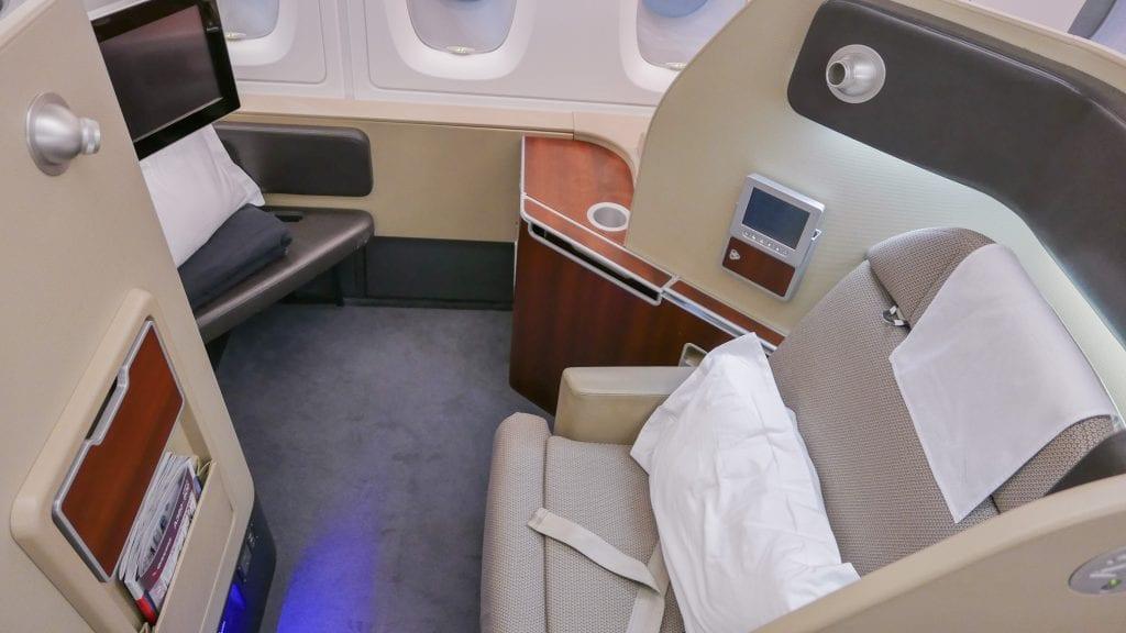 QF F LHR DXB 6 1024x576 - REVIEW - Qantas : First Class - London LHR to Dubai (A380)