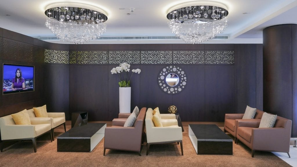 EY Flounge AUH 1 1024x576 - REVIEW - Etihad First Class Lounge, Abu Dhabi (AUH - Terminal 3)